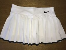 Nike Tennis  Dri-FIT White Skirt And Shorts Medium Size