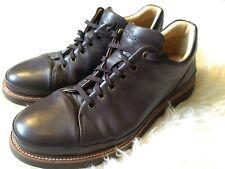 Samuel Hubbard Men's 10.5 wide Brown Leather Dress Shoe M1310-061 Dress Fast