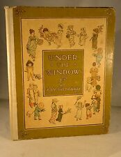 UNDER THE WINDOW Pictures and Rhymes  by Kate Greenaway Vintage Classic Children