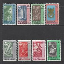 INDONESIA - 687 - 694 + 694a S/S - MNH - 1966 - MARITIME DAY