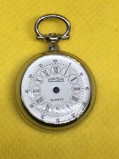 Vintage Original ARSA Pocket Case Watch High Quality Silver 100% New #PC01#