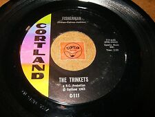 THE TRINKETS - FISHERMAN - NOBODY BUT YOU / LISTEN - GIRL GROUP POPCORN