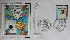 ENVELOPPE PREMIER JOUR - 9 x 16,5 cm - ANNEE 2000 - XXème SIECLE SOCIETE