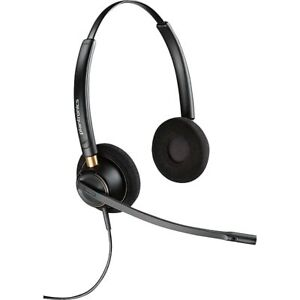 Plantronics 89434-01 EncorePro HW520 Stereo Corded Noise-Cancelling Headset
