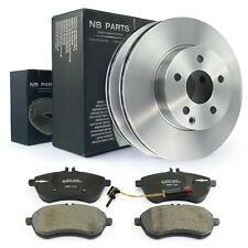 Bremsbeläge + Sensor + Bremsscheiben vorne Mercedes-Benz W204 S204 W212