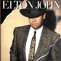 Elton John LP Breaking Hearts - Germany (EX+/EX+)