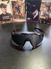 100 % Sunglasses SPEEDCRAFT Cherry Palace Black Mirror Lens Sport Performance