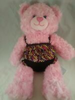 """BUILD A BEAR 16""""  Pink BEAR Stuffed Plush Toy Doll with bathing suit FREE SHIP"""