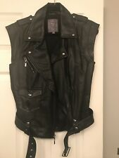 Guess Vegan Leather Vest