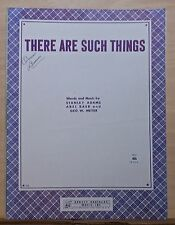 There Are Such Things - 1944 sheet music by Stanley Adams, Abel Baer, Geo.Meyer