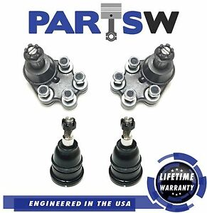 4 Pc Front Suspension Kit for Chevrolet Silverado & GMC Sierra 1500 Ball Joints