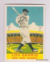 LOU GEHRIG, 2011 Topps 1933 DeLong Card #, CMGR-21, New York Yankees, HOFr