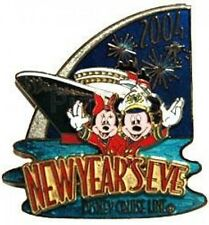 Disney Pin: Disney Cruise Line DCL - New Year's Eve 2004 (Mickey & Minnie) LE