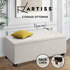 Artiss Storage Ottoman - Beige