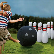 Giant Inflatable Bowling Set. Fun & Safe Outdoor Indoor Game For All Ages.