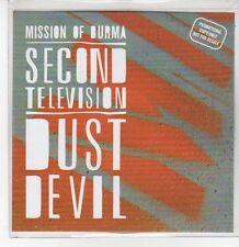 (DQ833) Second Television / Dust Devil, Mission of Burma - 2012 DJ CD