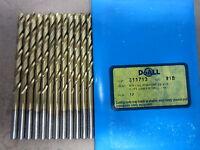 2.95 mm HD HSS Jobber Drill TiN 135 SpPt 10//pk