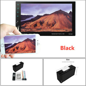 """7"""" Car Bluetooth Touch Screen mobile phone with reversing car MP5 player Set"""
