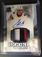 2017-18 The Cup Filip Chlapik Senators Rookie Patch Auto /249