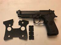 HANDLEITGRIPS TEXTURED RUBBER GUN GRIP TAPE for Beretta 92