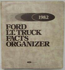 1982 Ford Light Truck Dealer Facts Organizer Book F-100 F-150 F-250 F-350 Bronco