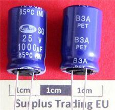 Samwha Radial Electrolytic 1000uF 25V 85C (Pk of 3)