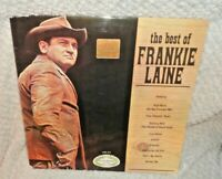 "The Best Of Frankie Laine 12"" LP Vinyl Record Album"