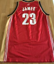 BNWOT Champion Cleveland Cavaliers LeBron James NBA rookie jersey 2003 XL 48 #23