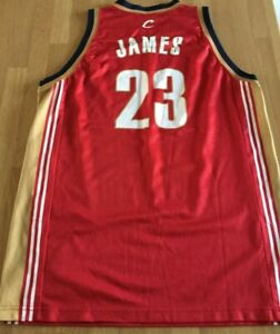 BNWOT Champion Cleveland Cavaliers LeBron James NBA rookie jersey 2003 XL 48 #23