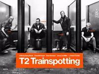 T2 TRAINSPOTTING MOVIE POSTER FILM A4 A3 ART PRINT CINEMA
