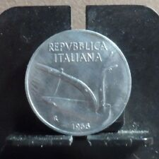 CIRCULATED 1956 10 LIRA ITALIAN COIN (122218)1.....FREE DOMESTIC SHIPPING!!