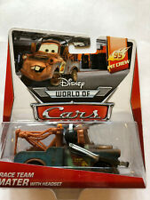 Disney Pixar Cars Race Team Mater With Headset 95 Pit Crew 2/5 (NIP but See Note