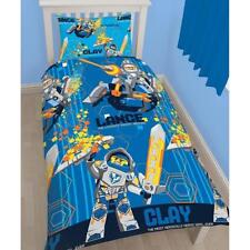 OFFICIAL LEGO NEXO KNIGHTS -  REVERSIBLE SINGLE SIZE DUVET COVER BED SET