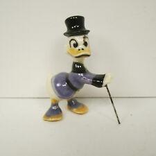 Hagen Renaker Walt Disney Uncle Scrooge Porcelain Figurine
