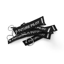 Future Pilot Keyring Silver
