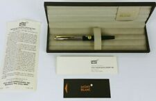 MONTBLANC Fountain Pen OB Nib NO.126 Fluted Steel Cap - New In Box