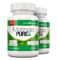 Moringa Pure 500mg Organic Health Capsules 120 Capsules Evolution Slimming