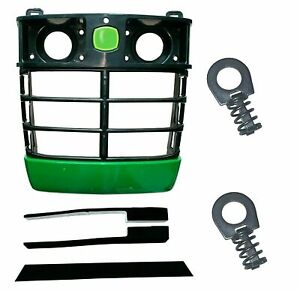 Front Grille/Mounting Pad/Clips Replaces LVA11379 Fits John Deere 4200 4300 4400