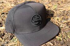 NOUVEAU Guru Ripstop réglable chapeau noir - Taille Unique - Carpe