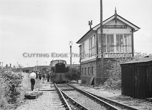 6 x 6 Railway Negative MSC Sentinel 3002 Ellesmere Port Signal Box '79 30/287a13