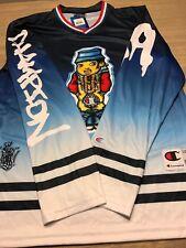NWT Champion X King Phade Hockey Graffitti All Over Print Jersey Mens Shirt 37f083daa