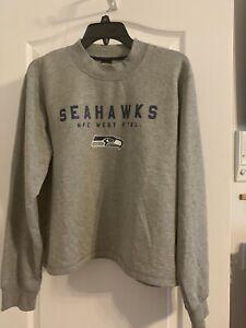 Seattle Seahawks Women's NFL Football Fleece Lined Sweatshirt  NWT Size XL
