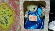 Muffy Vander bear limited holiday edition 1989 angel 1st in holiday series