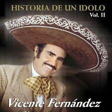 Historia de un Idolo, Vol. 2 by Vicente Fernndez (Latin) (CD, Apr-2002, Sony...