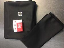 Pool Table Cloth 9 Foot Black  Felt-Free Shipping-FREE Spot/Chalk