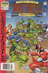 Teenage Mutant Ninja Turtles Adventures (3rd Series) #1 (Newsstand) GD; Archie |