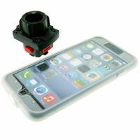 Tigra Protège Pluie Mountcase Avec 25mm Douille Pour Apple iPhone 7 Plus 14cm