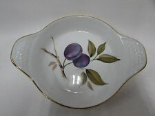 Royal Worcester Oven To Table Ware Porcelain Bowl Evesham Plum Dish