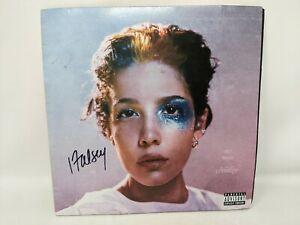 Manic by Halsey Vinyl SIGNED JACKET ONLY, NO DISC; RECORD NOT INCLUDED