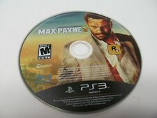 PS3 Max Payne 3 Disc Only - Tested
